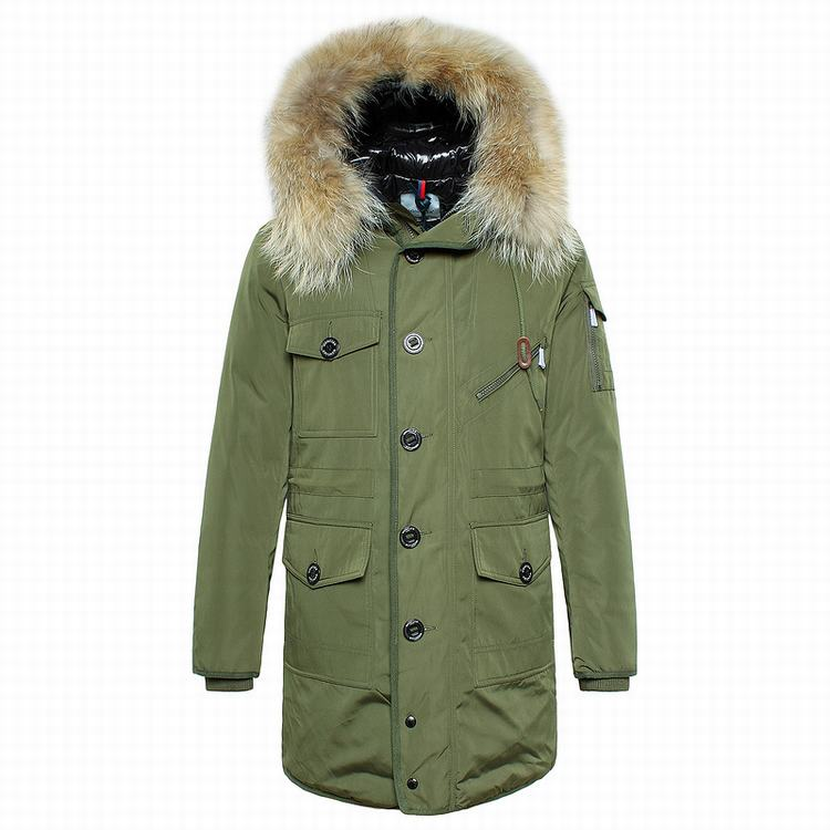 Moncler Augustin Men Jacket Green