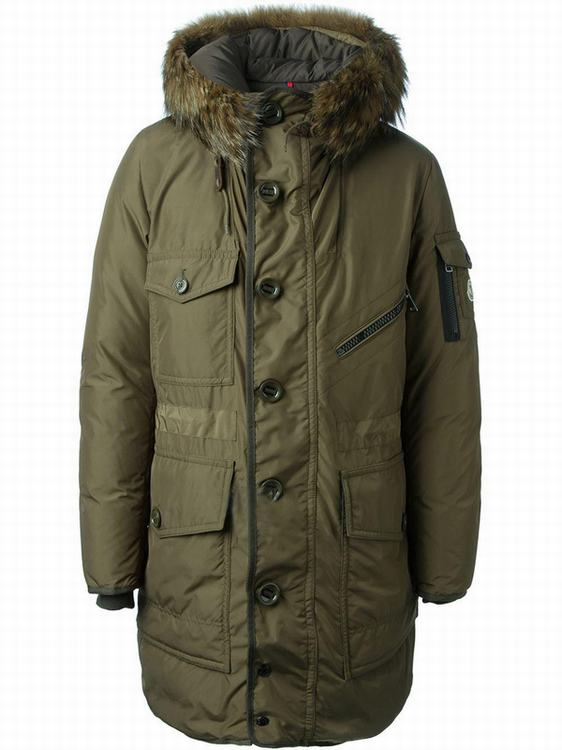 Moncler Augustin Men Jacket Yellow Green
