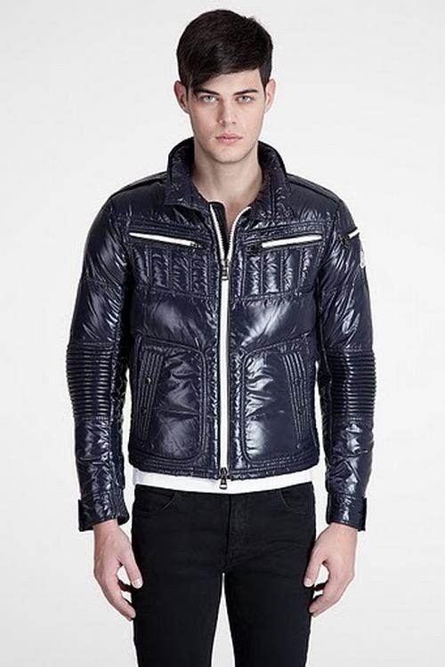 Moncler Bastille Men Jacket Blue
