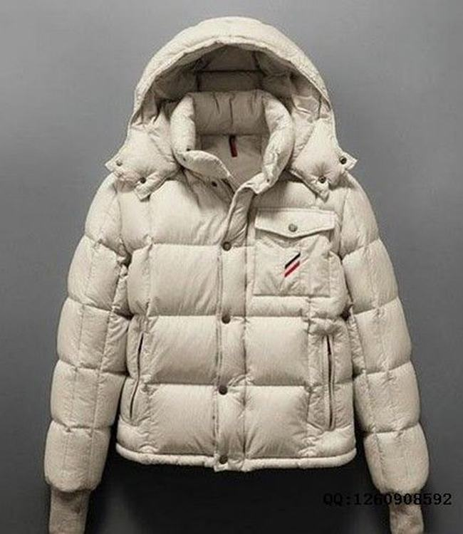 Moncler Cezanne Men Jacket White