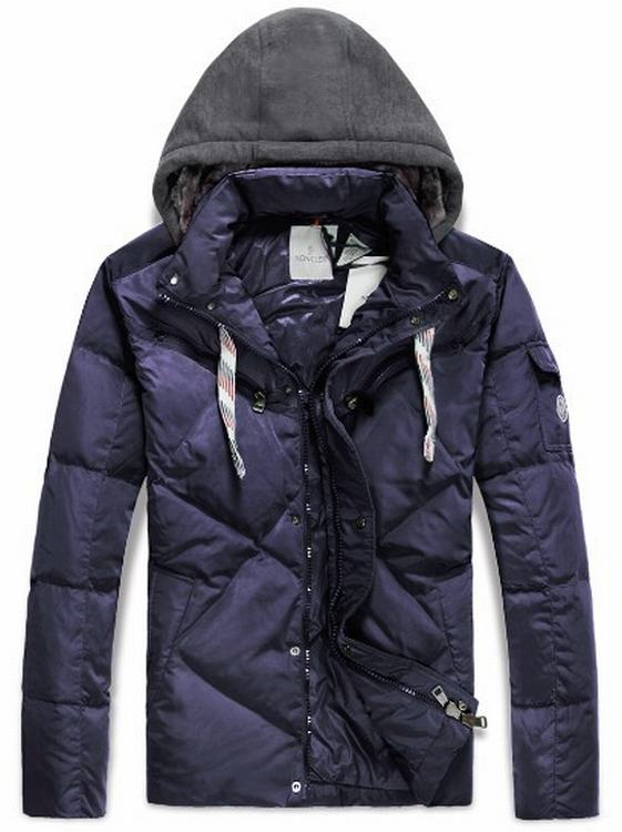 Moncler Domat Men Jacket Purple