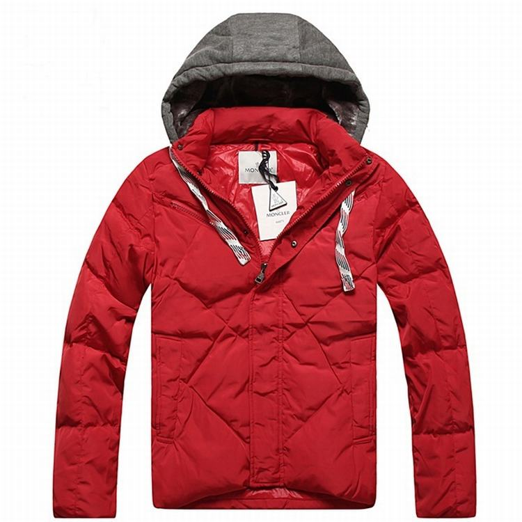 Moncler Domat Men Jacket Red