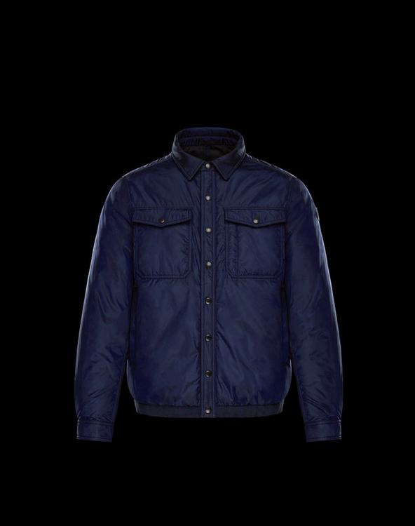 Moncler Erault Men Jacket Blue