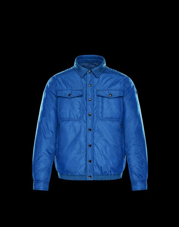 Moncler Erault Men Jacket Royal Blue