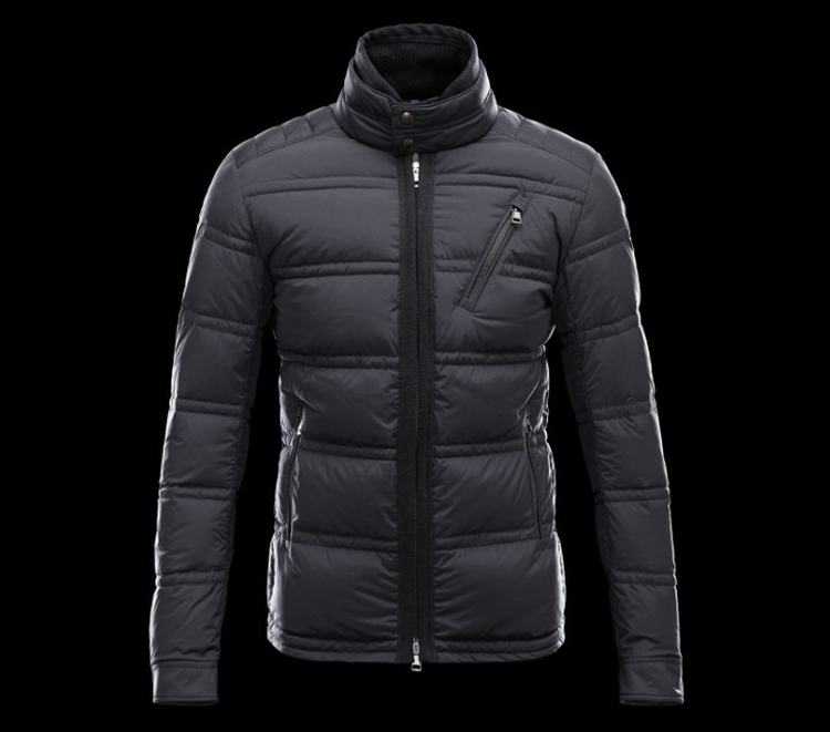 Moncler Eric Men Jacket Dark Blue