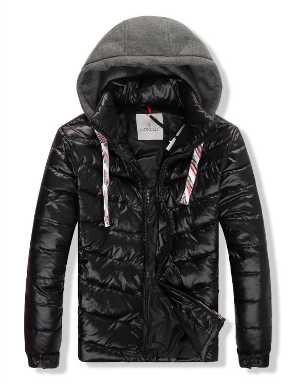 Moncler Gamme Bleu 10 Men Jacket Black