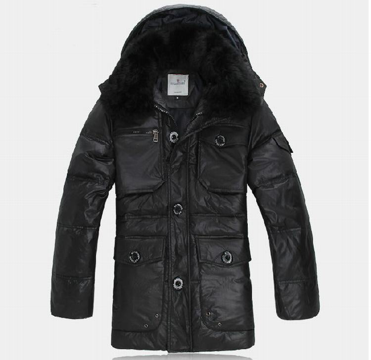 Moncler Gaspard Men Jacket Black