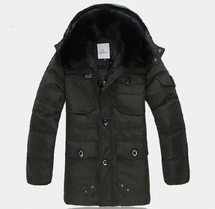 Moncler Gaspard Men Jacket Green