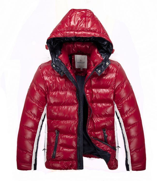 Moncler Peeters Men Jacket Red