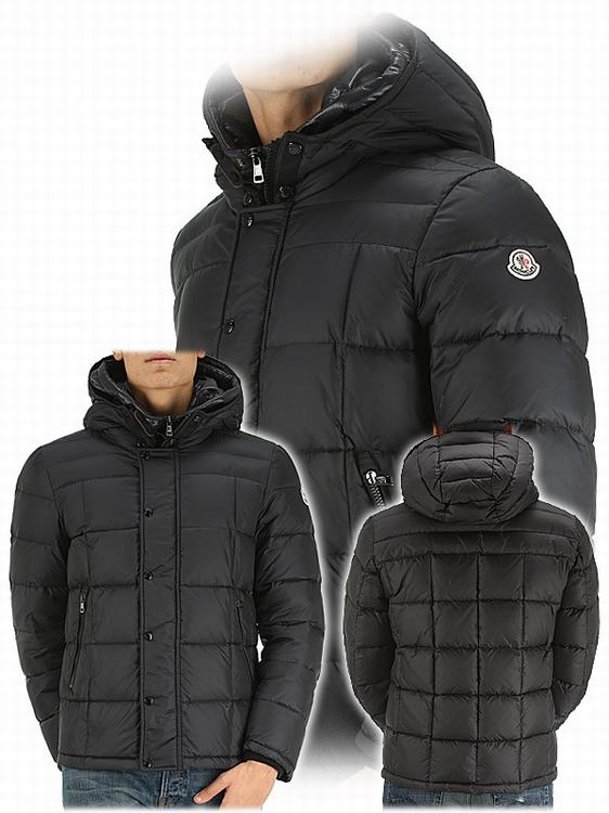 Moncler Quentin Men Jacket Army Black