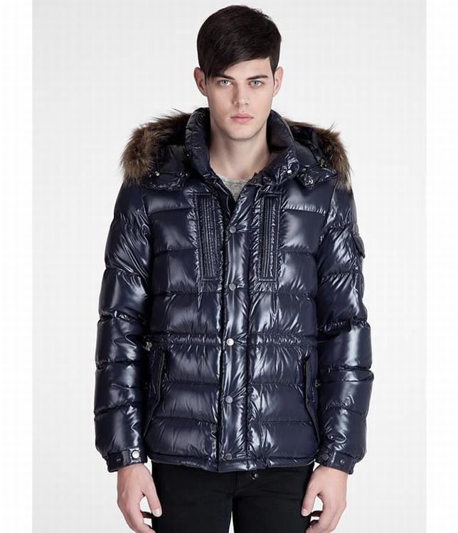 Moncler Rod Men Jacket Dark Blue