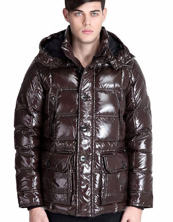 Moncler Sauteren Men Jacket Brown