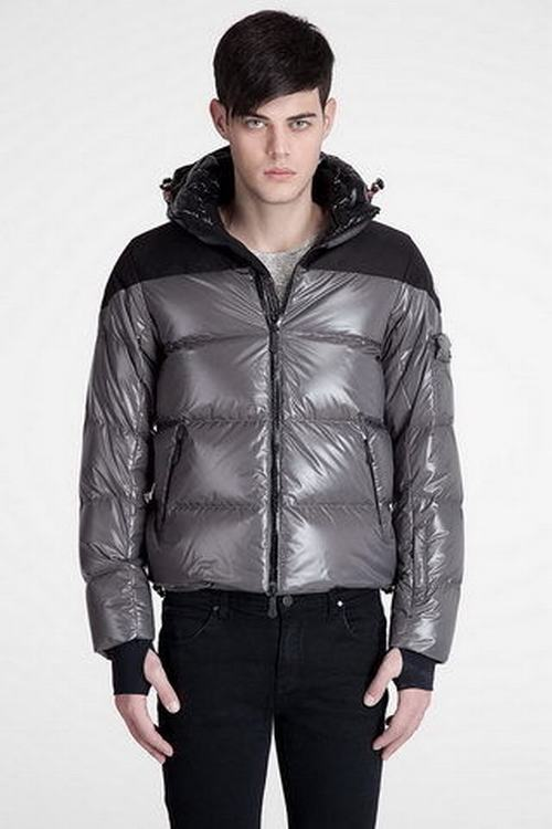 Moncler Ski Down Jacket Men Jacket Grey