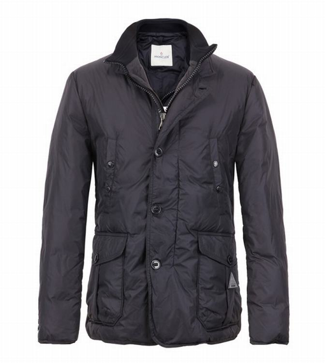 Moncler Tany Men Jacket Grey Red