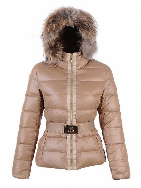Moncler Angers Women Classic Jacket Cherry