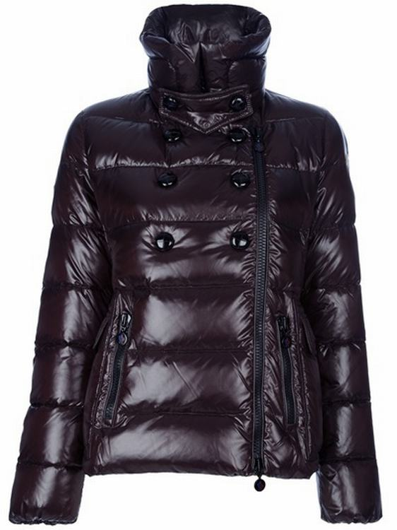 Moncler Cyroselle Women Jacket Dark Brown