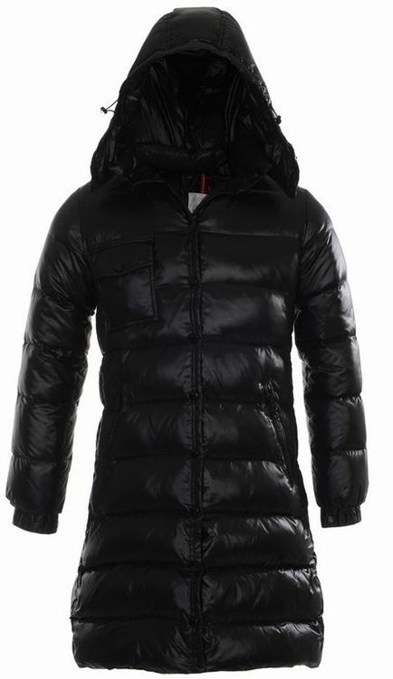 Moncler Nantes 04 Women Jacket Black