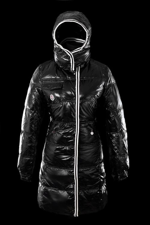 Moncler Quancy Women Long Jacket Black