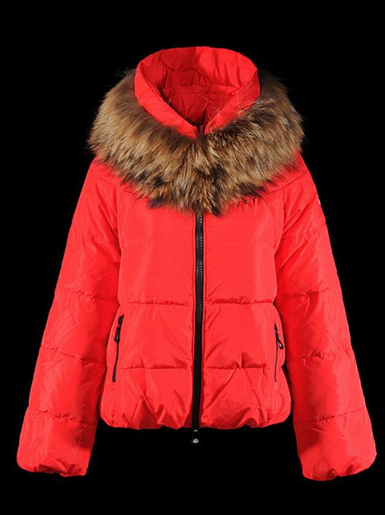 Moncler Sauvage Women Short Jacket Red