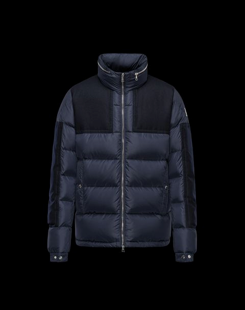 Moncler Arcs Men Jacket Blue Black