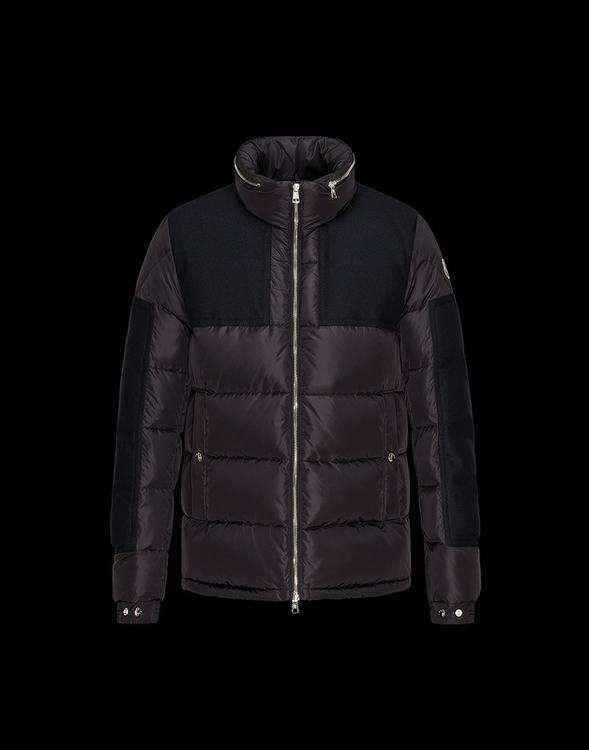 Moncler Arcs Men Jacket Brown Black