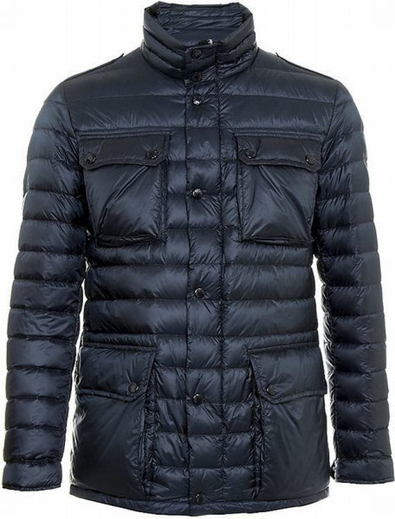 Moncler Arnoux Men Jacket Blue