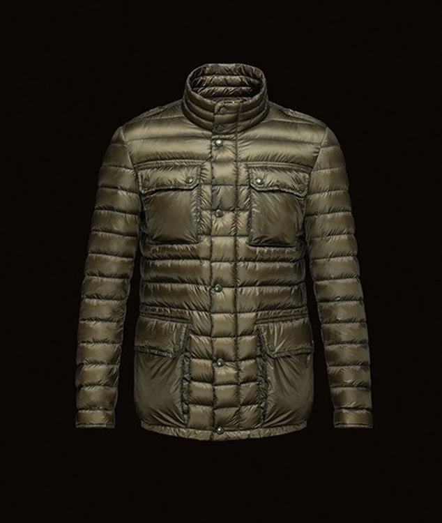 Moncler Arnoux Men Jacket Green