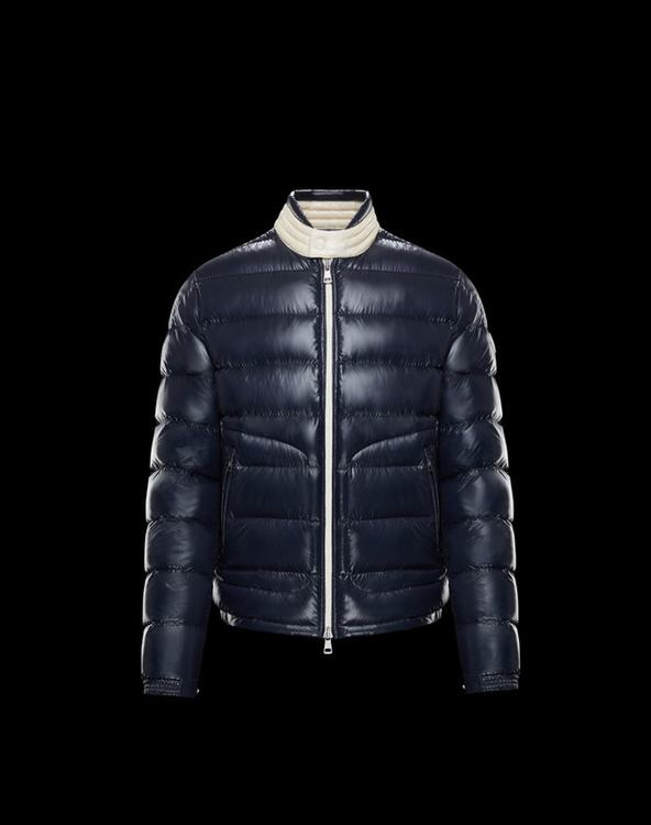 Moncler Aubert Men Jacket Blue