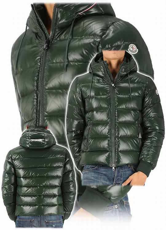 Moncler Aubert Men Jacket Green
