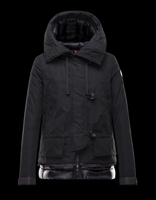 Moncler Bages Men Jacket Black