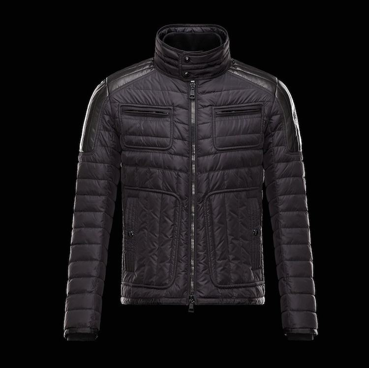 Moncler Bahr Men Jacket Dark Red