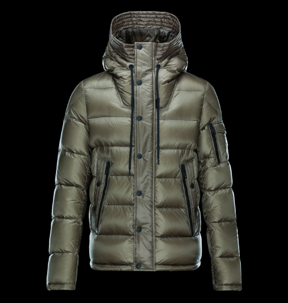 Moncler Basile Men Jacket Green