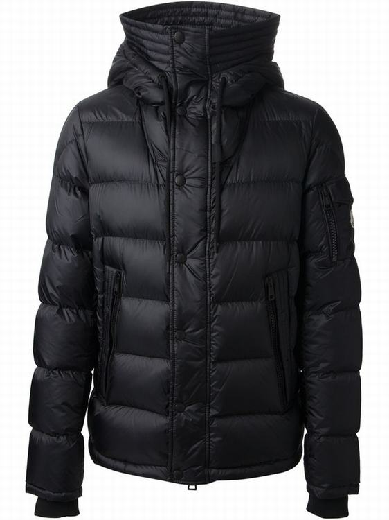 Moncler Basile Men Jacket Sky Black
