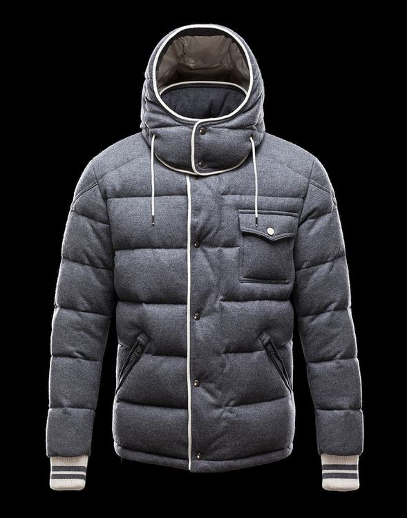 Moncler Bresle Men Jacket Grey