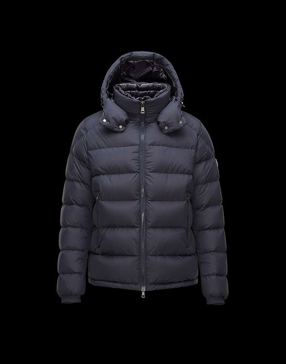 Moncler Brique Men Jacket Blue