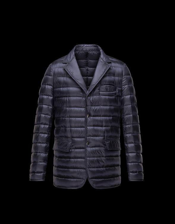 Moncler Brun Men Jacket Blue