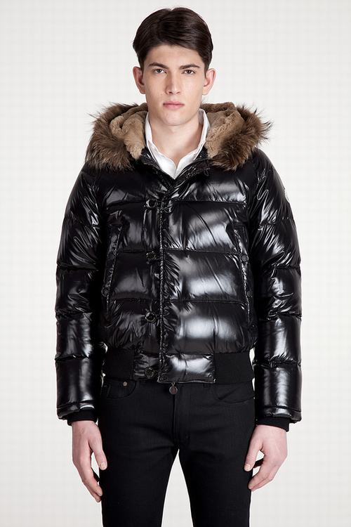 Moncler Bulgarie Men Jacket Black