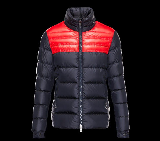 Moncler Dinant Men Jacket Blue Red