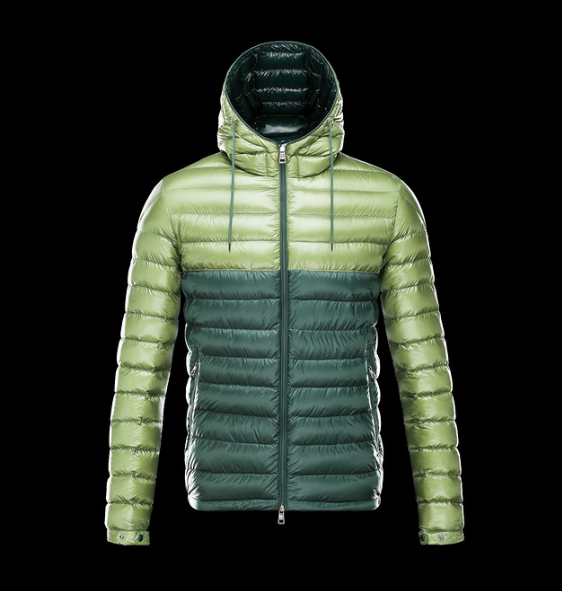Moncler Emeric Men Jacket Cyan