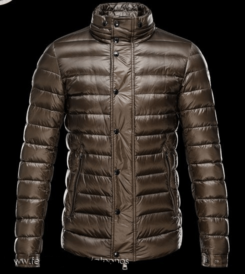 Moncler Gergy Men Jacket Brown