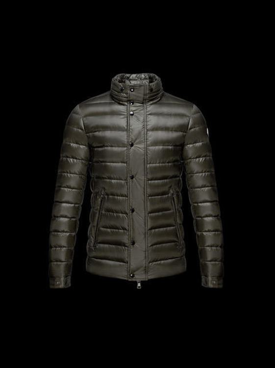 Moncler Gergy Men Jacket Dark Green