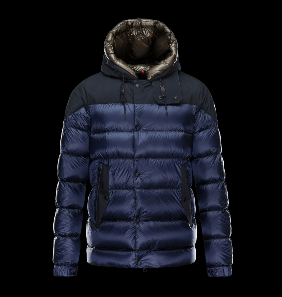 Moncler Goran Men Jacket Blue