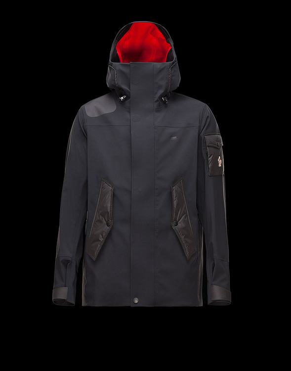 Moncler Grenoble Arvieux Men Jacket Black
