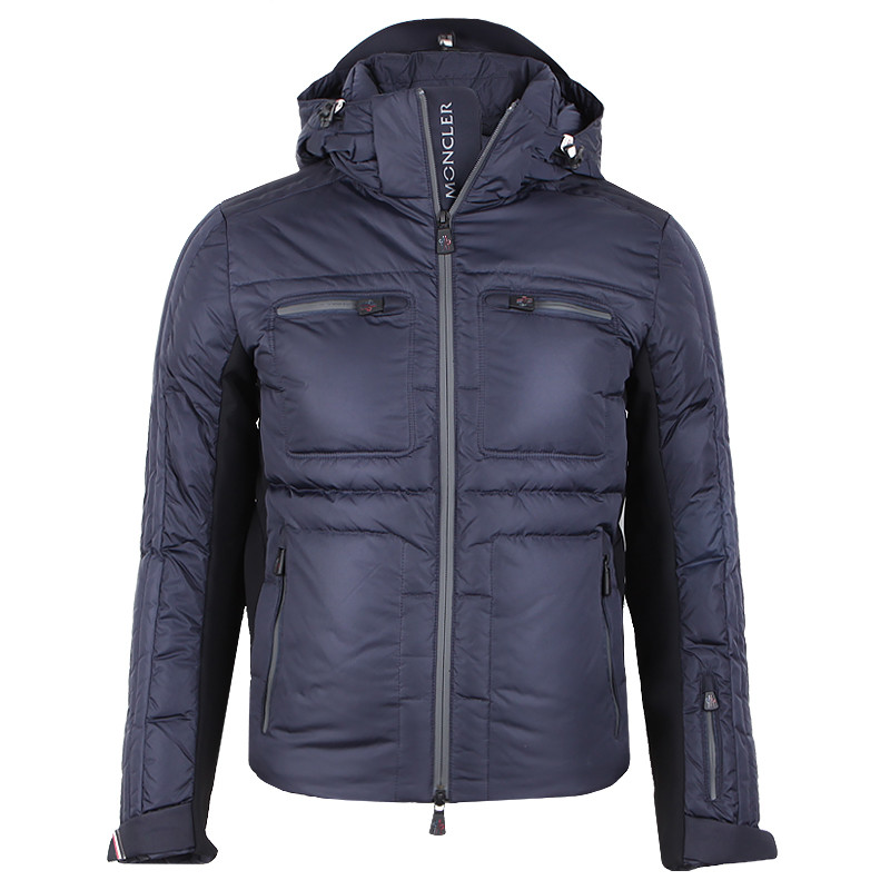 Moncler Grenoble Blagnac Men Jacket Grey Blue