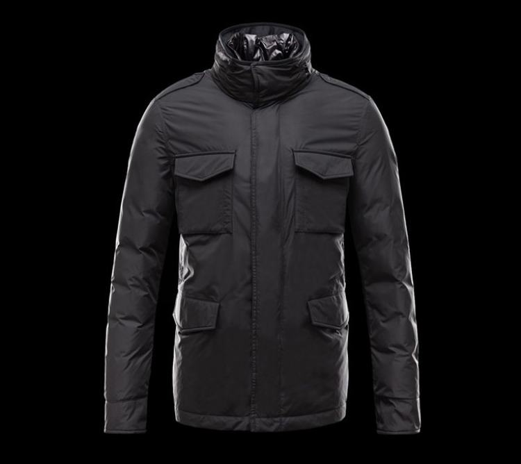 Moncler Hector Men Jacket Black