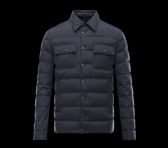 Moncler Luberon Men Jacket Blue