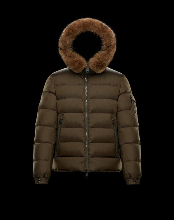 Moncler Marque Men Jacket Brown