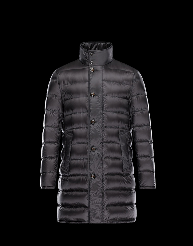 Moncler Monier Men Jacket Black Red