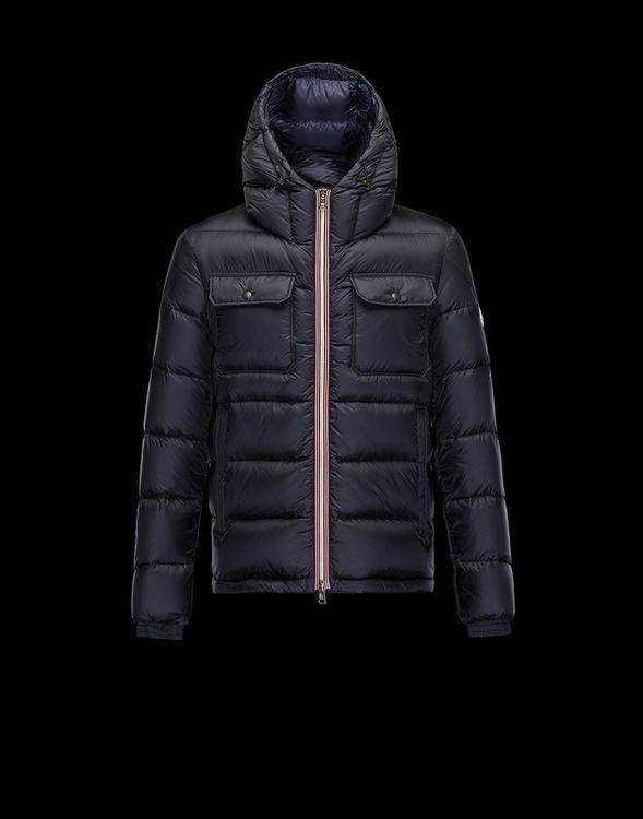 Moncler Morane Men Jacket Blue
