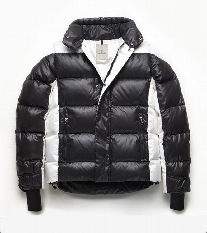 Moncler Omer Men Jacket Black White